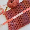 tutorial. hippie wool crochet neck