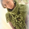 nonstandard knitted cowl, new model scarf