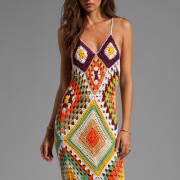beautiful summer crochet dress