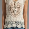 camiseta de crochet de  Lisa Maree