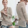 nice blouse with crochet patterns
