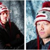 MISHA COLLINSi in gorro tejido /MISHA COLLINS in crochet hat /MISHA COLLINS в вязаной шапочке